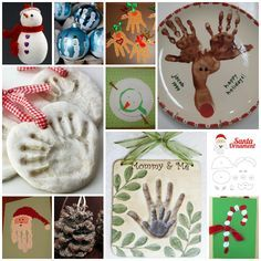 Christmas Crafts for Kids - I like the Mommy & Me one
