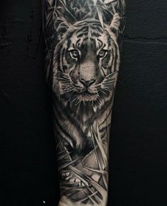 042e73248 23 Best Tiger Forearm Tattoo Designs images in 2017 | Forearm tattoo ...