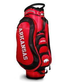 Look at this #zulilyfind! Arkansas Razorbacks Medalist Cart Bag by Team Golf #zulilyfinds