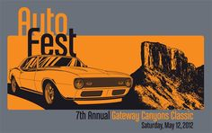 Head down to AutoFest May 12, 2012 in Gateway, CO to support Mesa County Partners.  http://ecbiz119.inmotionhosting.com/~mesapa5/gateway-canyons-car-show/