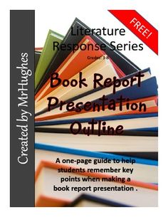 FREE BOOK REPORT GUIDELINES. Do you find yourself wishing that your students would remember to tell about the book OR wish that they would stop giving away the ending