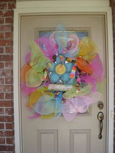 Kristen's Creations: ~~Mesh Wreaths and Summertime~~