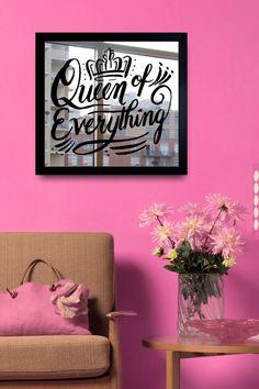 Queen of Everything Mirror Art on @HauteLook
