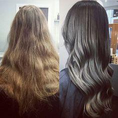 Hair by Lee at Allertons #Leeds #Hair #HairLeeds #HairColour #Inspiration #ByLee #Allertons #AllertonsOnline #EverythingBeauty #Balayage #grey #greyhair