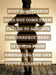 positive body image quote - Google Search