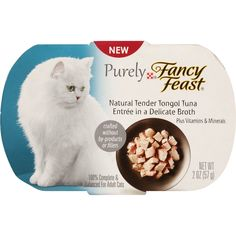 Purely Fancy Feast, 2-Ounce Pouch, Pack of 10 ** Visit the image link more details. (This is an affiliate link and I receive a commission for the sales)