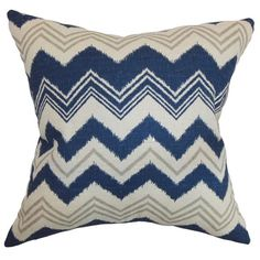 Quirindi Zigzag Pillow Birch - Upper Earth