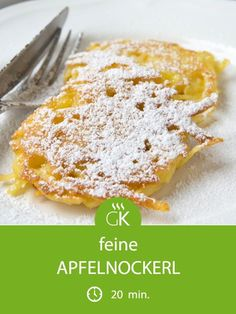 - Rezept süsssepeise Cuisine de mamies And DrinkApfelnockerl - Rezept süsssepeise Cuisine de mamies And Drink Baking Recipes, Cake Recipes, Snack Recipes, Dessert Recipes, Snacks, Apple Desserts, Delicious Desserts, Apple Dumpling Recipe, Apple Dumplings