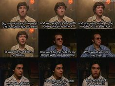 That 70s Show Hyde Quotes | Hyde, & Fez Discuss Donna's Latest Troubles In The Circle On That 70 ...