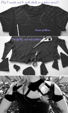 DIY T-shirt Craft