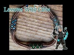 Transition between Netted Rope and Tubular Herringbone Jewelry Tutorial - Lessons with Odin: - YouTube