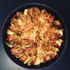 Découvrez ce tian de légumes aubergines, courgettes et tomates : un plat typiquement provençal vous permettant de manger 3 portions de légumes.