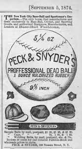 """A baseball cap, manufactured by Peck & Snyder and commonly known as """"No. 1"""", was worn by top amateur clubs. The top of the crown displayed a star design, and it cost anywhere from around one to two bucks, depending on the grade of wool. But just pennies would purchase a cap made of lesser quality flannel. Legendary baseball player Albert G. Spalding, founder of the premier baseball manual Spalding's Base Ball Guides (1889-1939)"""