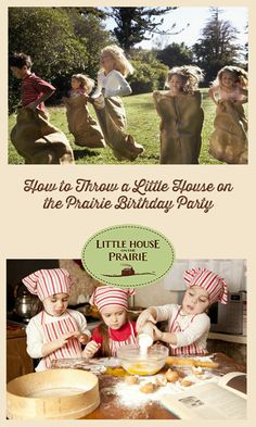 you ever had a Little House on the Prairie themed party with your family? See how this mom put together a fun LHOTP party for her kids. We love the creative decorations, activities, food offerings, party favors and more. Pioneer Day Activities, Pioneer Games, Birthday Celebration, Birthday Party Themes, Girl Birthday, Birthday Ideas, Birthday Activities, 70th Birthday, Elsa Birthday