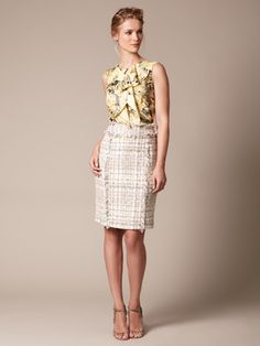 spring work ensemble by Carolina Herrera.  Both pieces on sale on Gilt.com. $499 + $649 = $1148 for the outfit.