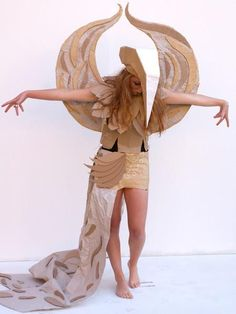 Students Design Amazingly Creative Cardboard Costumes - My Modern Met