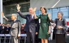 King Philippe and Queen Mathilde of Belgium Visit Japan – Day 3 12 OCT Programme – the Yuki Information Communication Center – Dinner hosted by Japanese Prime Minister Shinzo Abe