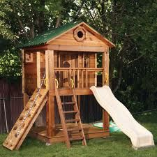 outdoor playhouse plans - Google Search
