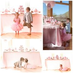 tutu cute ballerina first birthday party @Kisha Hope Bundrant I love this!!!! Maybe we could do something like this at her party?