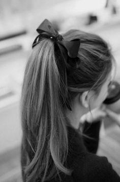 Hair Accessories Women Tiara Satin Ribbon Bow Hairband Rope Scrunchie Hair Braider Tools For Hair Acessorios Para Cabelo Ponytail Hairstyles, Pretty Hairstyles, Retro Ponytail, Perfect Ponytail, Ribbon Hairstyle, Stylish Ponytail, Braid Hair, Ponytail Ideas, Auburn Hair