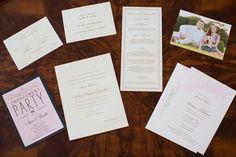 classic invitations. like the bridal shower invites a lot