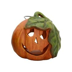 This adorable indoor jack-o-lantern decoration is definitely not scary!