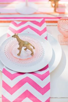 animals at weddings, gold painted animals, gold animals, circus wedding, studio fleurette Shower Party, Baby Shower Parties, Baby Showers, Bridal Shower, Circus Baby, Circus Theme, Sip And See, Gold Spray Paint, Diy Party