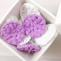 How to crochet your own Make-Up remover pads | Tutorial | DIY | Crochet | Must Make | Dutch | www.metdehand.nl