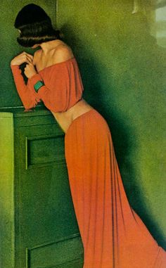 Yves Saint Laurent Rive Gauche in Vogue US February 1972 via www.fashionedbylove.co.uk british fashion blog