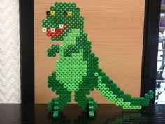 T-Rex Dinosaur  hama beads - Las cosas de Hama de Ana y Santi