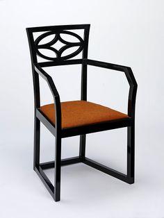 Koloman Moser armchair 1904