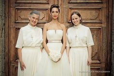 Photo bride with nuns by Corrado Fulvi on 500px