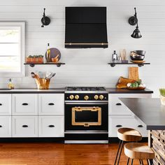 Long beloved for its colorful and retro refrigerators, manufacturer Big Chill has cooked up a sleek new Classic Series of stoves and hoods inspired by turn-of-the-century American design.