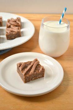 Raw Oatmeal Raisin Cookie Dough Bars