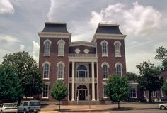 Bullock County Courthouse Historic District on Prarie St.  in Alabama