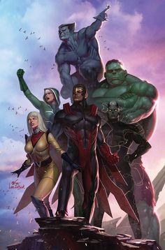 Something Marvel? Something Dc? Bit of both!