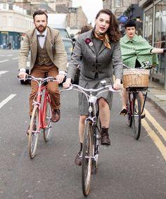 THE TWEED PIG: Harris Tweed Ride - A Look Back
