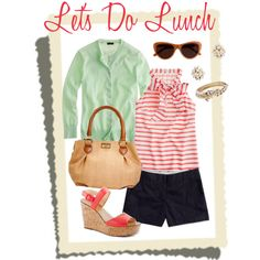 let's do lunch, created by rbezila on Polyvore
