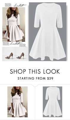 """""""Nice dress look"""" by rousou ❤ liked on Polyvore featuring River Island"""