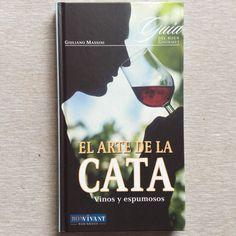 EL ARTE DE LA CATA Vinos Uvas Hardcover Wine Book Spanish Libro Español Home