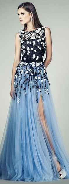 Tony Ward Couture SS 2014 Of all the pins I have posted on my board, this by far is my favorite.