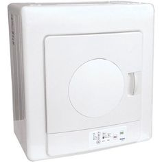 For in the bathroom for towels and clothes on cold winter mornings. Haier HLP140E 2-3/5-Cubic-Foot Compact Tumble Vented Dryer by Haier, http://www.amazon.com/dp/B000UWGLGU/ref=cm_sw_r_pi_dp_1M-Wpb10EE95T