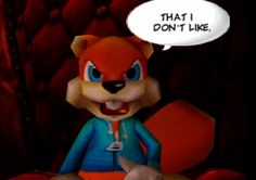 Conker's Dangerous Fur Day is irreverent motion at its finest . Video Game Collection, Best Titles, Conkers, Last Game, Mario And Luigi, Old Games, God Of War, Laughing So Hard, Squirrel