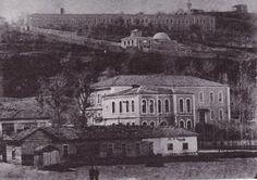 Old Trabzon . Trabzon Turkey, Stone Houses, Ottoman Empire, Vintage Photos, Paris Skyline, Greek, Louvre, Istanbul, History