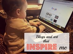 Here are a few of my favorite sources of inspiration and ideas. Blogs and art that inspire me over at Mrs. On the Move
