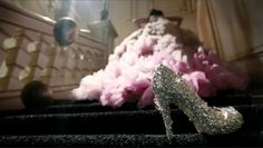 Silver Slipper on the Stairs