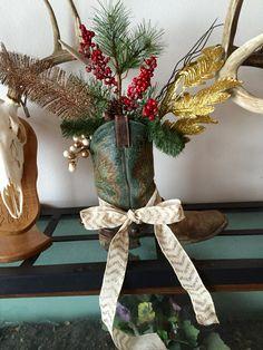 Boot Christmas decoration.