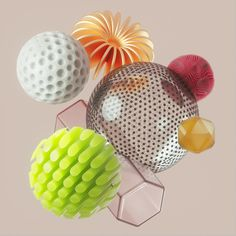Material Objects on Behance