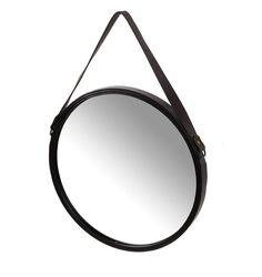 Lustro okrągłe 40,5 czarne