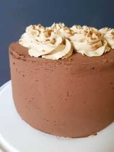 Hemelse chocolade koffie taart Fun Desserts, Dessert Recipes, Bake My Cake, Baking Bad, Chocolate Delight, Sweet Bakery, Different Cakes, Sweets Cake, Drip Cakes